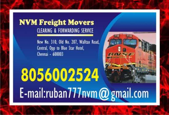 NVM Freight Movers | Chennai Central Stations | d
