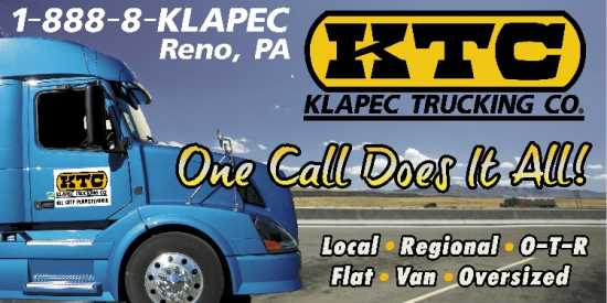 Drivers Needed Klapec Trking Co - Drivers Needed